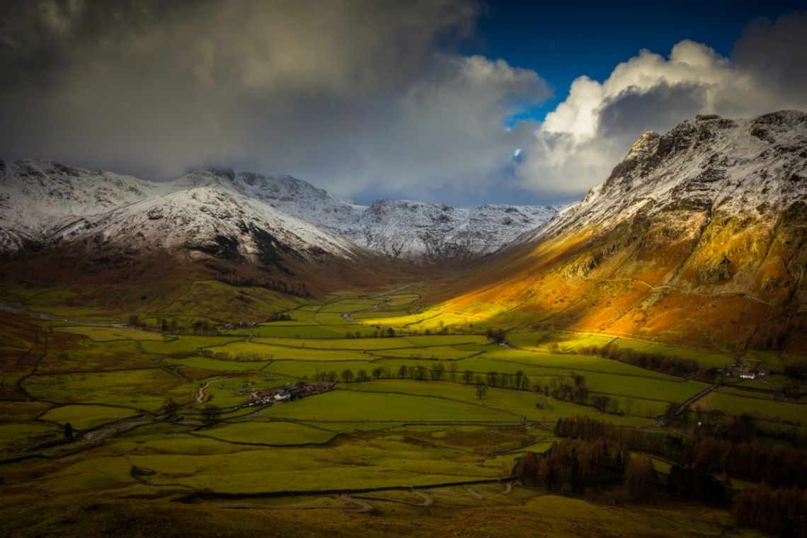 The Langdales, Lake District, Full Colour