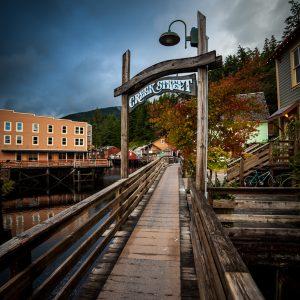 Creek Street, Ketchikan, Alaska – Print