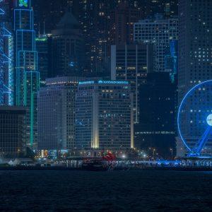 Hong Kong Skyline – Print