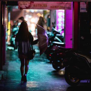 Umbrella Girl Taiwan – Print