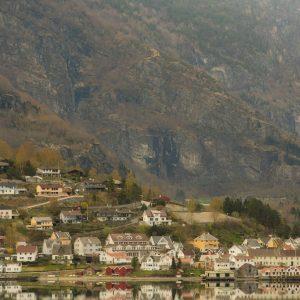 Geirangerfjord Approach Town – Print