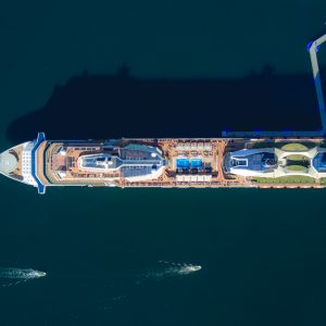 Celebrity Eclipse Aerial – Print